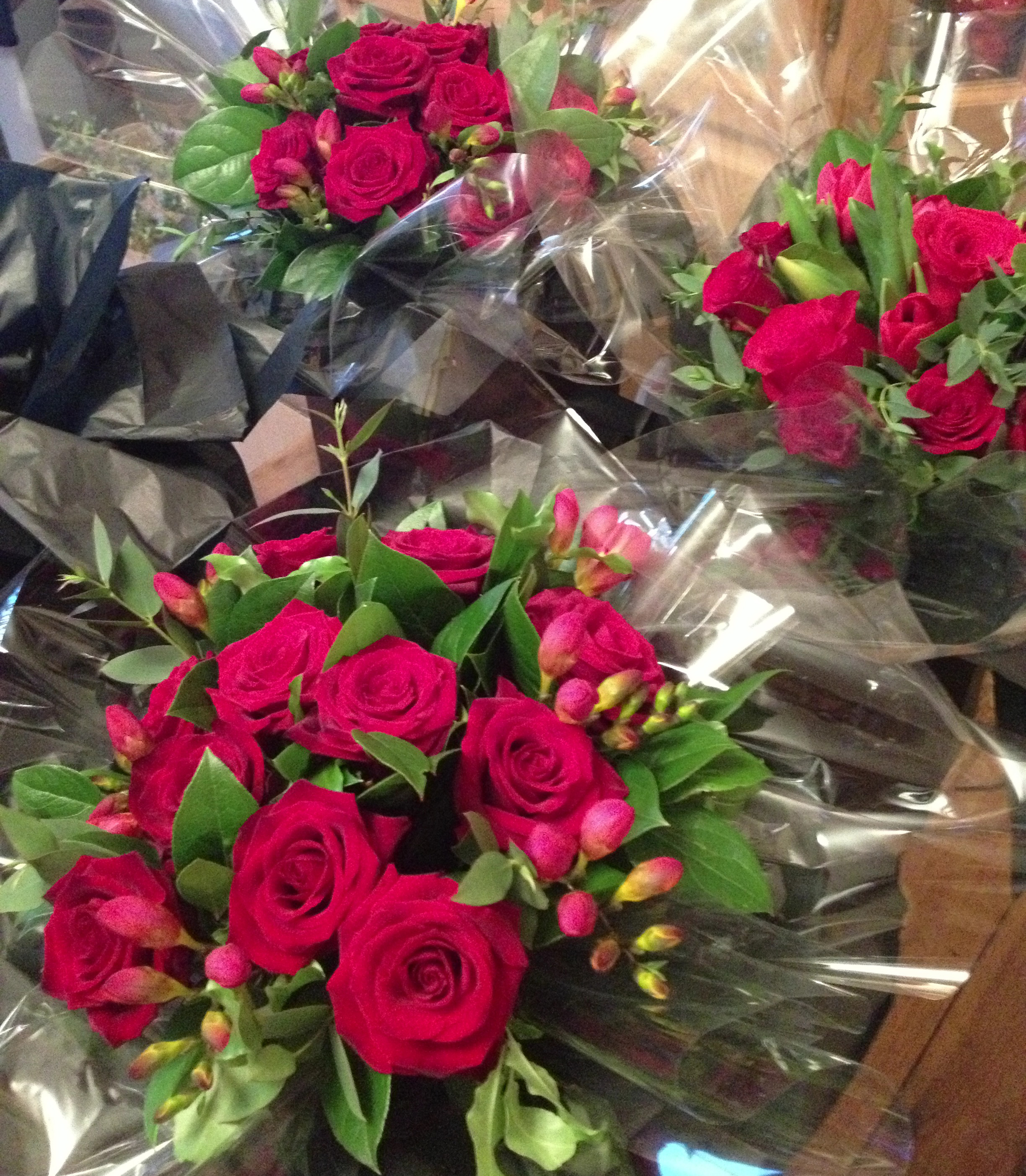 A day in the life of a florist Valentine s Day Joanne Truby Floral