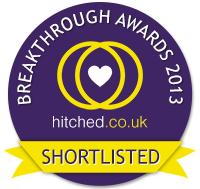 Shortlisted for the Hitched Breakthrough Awards