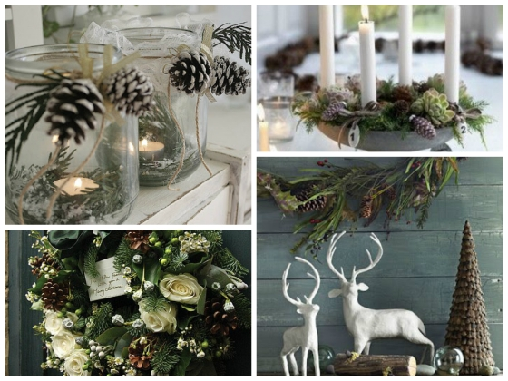 woodland Christmas Style Board
