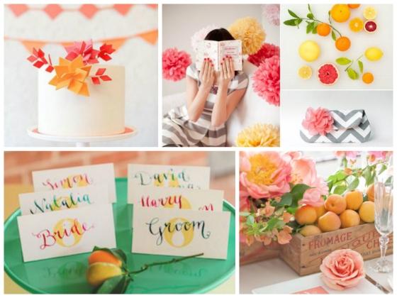 Citrus Inspiration board