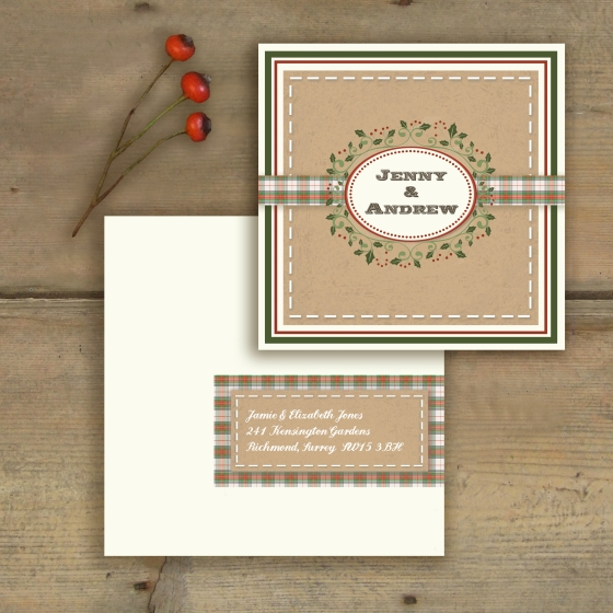 Vintage Christmas Stationary